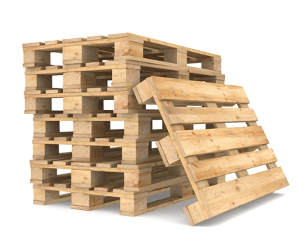 Using Wood Pallets for Transporting and Storing Food