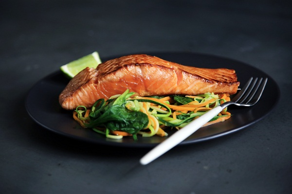 Salmon is a healthy and delicious way to get rid of acne.